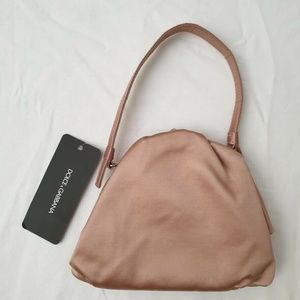 Dolce & Gabbana Kisslock Clutch Handbag - Pink